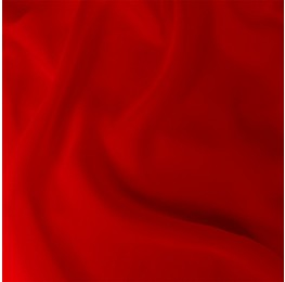 Satin Chiffon Red