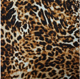Satin Jacquard Animal Print CZ-057