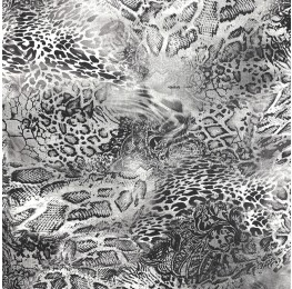 Satin Jacquard Animal Print KACR-180071