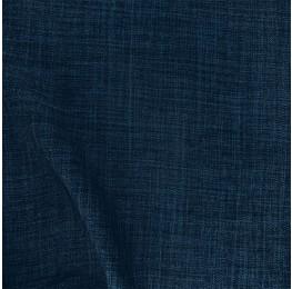 Scratch Linen Look Deep Blue