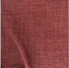Scratch Linen Look Red Clay
