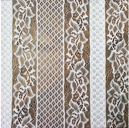 Geo Floral Lace Ivory