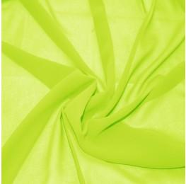 Silky Chiffon Lime Green