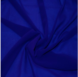 Silky Chiffon Royal Blue