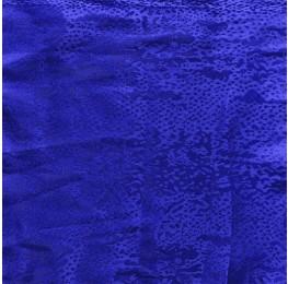 Snake Satin Jacquard Blue