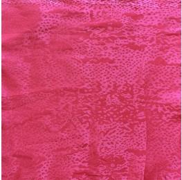 Snake Satin Jacquard Pink