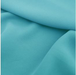Superior Georgette Azzurro Blue