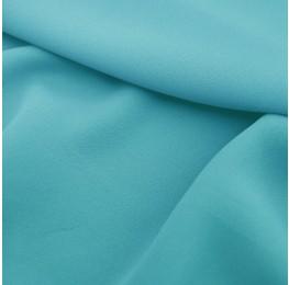 Superior Georgette Azzurro Blue