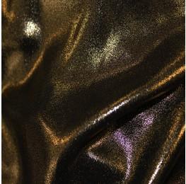 Superior Georgette Foil Black Gold