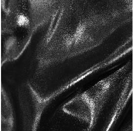 Superior Georgette Foil Black Silver
