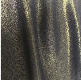 Superior Georgette Foil Navy Gold