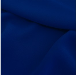 Superior Georgette Marine Blue