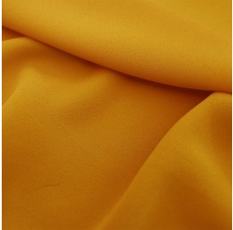 Superior Georgette Ochre