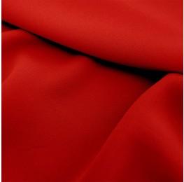 Superior Georgette Poppy Red