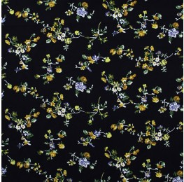Superior Georgette Print Blue Bells