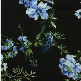 Superior Georgette Print Cluster Floral