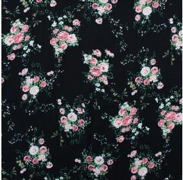 Superior Georgette Print Daisy Chain
