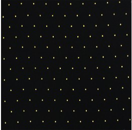 Superior Georgette With Metallic Spot Black Gold
