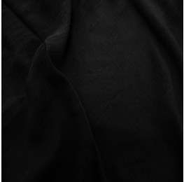 Viscose T/R Slub Black