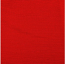 Waffle Georgette High Risk Red