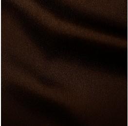 Zara Satin Back Crepe Chocolate