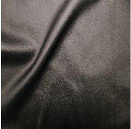 Zara Satin Back Crepe Foil Crepe Side Black Silver