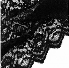 Corded Lace Black