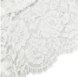 Scalloped Lace Ivory