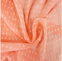 Dotted Jacquard Peach