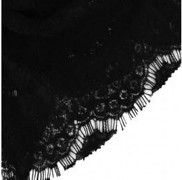Eyelash Lace Black