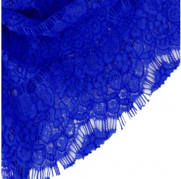 Eyelash Lace Cobalt