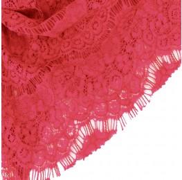 Eyelash Lace Pink Coral