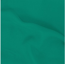 Feather Georgette Bright Aqua