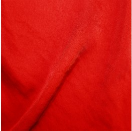 Hammered Satin Scarlet