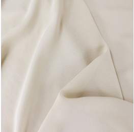Silky Georgette Ivory