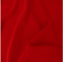 Silky Georgette Red