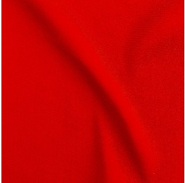Silky Twill Red Coral
