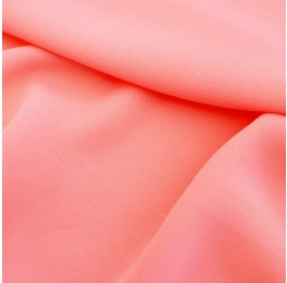 Superior Georgette Neon Peach