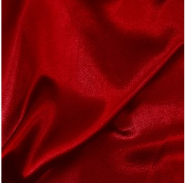 Washer Satin Back Crepe Red 1