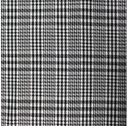 Woven Check NS-2000A D#5 Black White