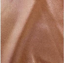 Zara Satin Back Crepe Foil Satin Side Mink Mink